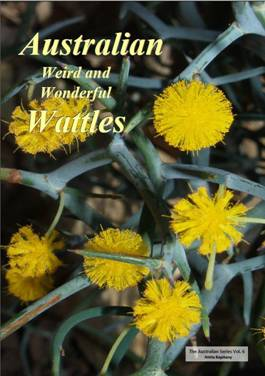 Cover of Australian weird and wonderful wattles